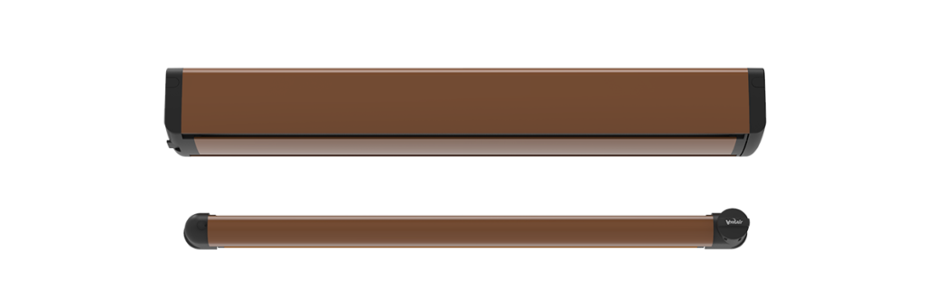 Brevis Urbino w kolorze miodowego brązu.
