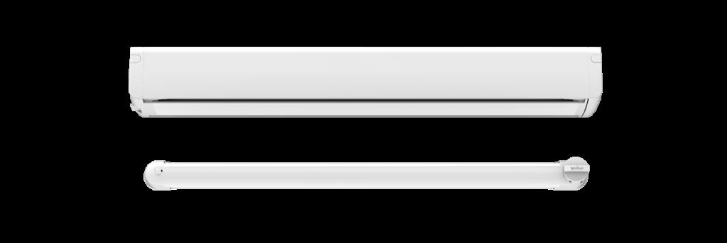 Nawiewnik Brevis Urbino w kolorze białym.