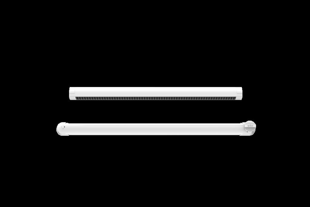 Nawietrzak Ventair, którego izolacyjność akustyczna wynosi 34 dB.