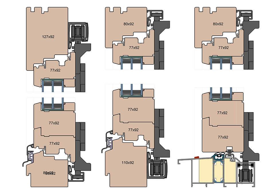 Patio FS - typy konstrukcji.