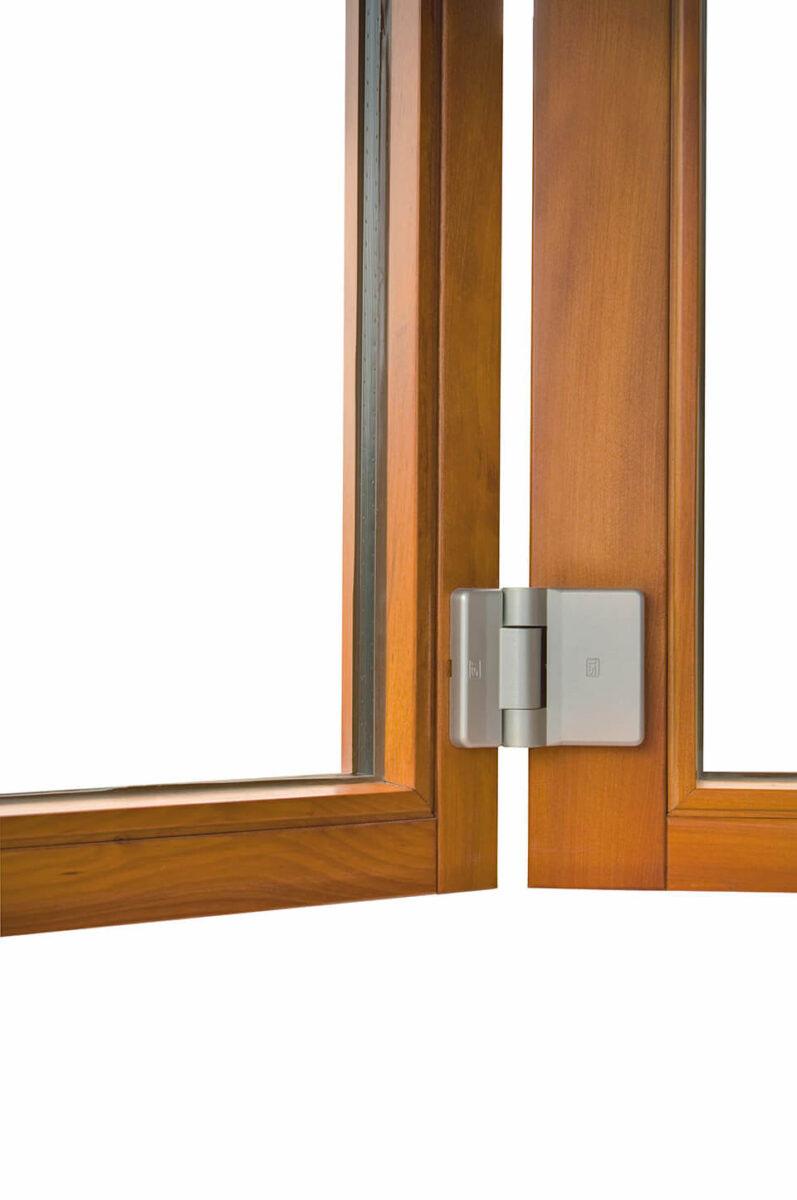 Zawiasy do drzwi harmonijkowych.