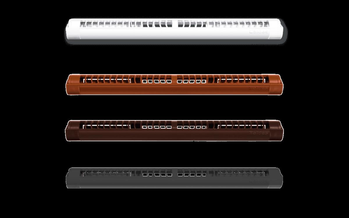 Nawiewnik ciśnieniowy Aereco, o izolacyjności akustycznej 33 dB.