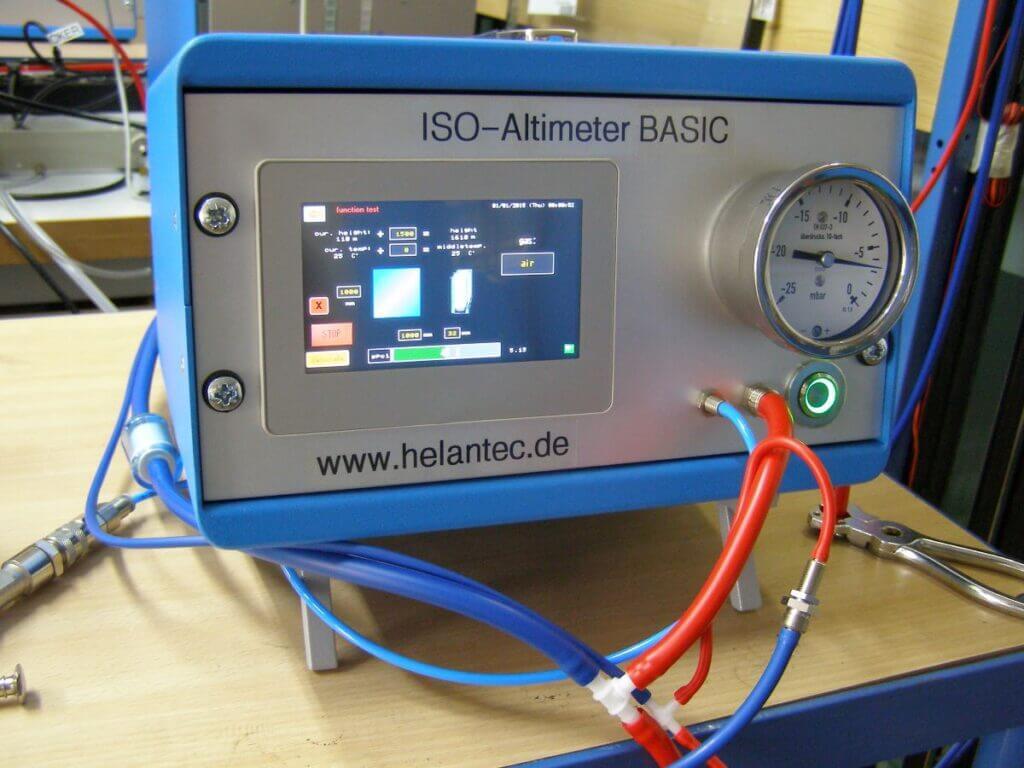 System kompensacji ciśnienia Altimeter.